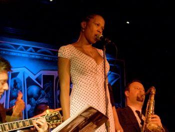 With JC Hopkins Biggish Band